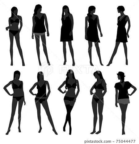 Woman Female Girl Fashion Lingerie Undies Underwear Bra Model.  75044477