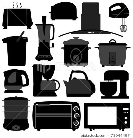 Kitchen Appliances Electronic Electrical Equipment Tool.  75044497