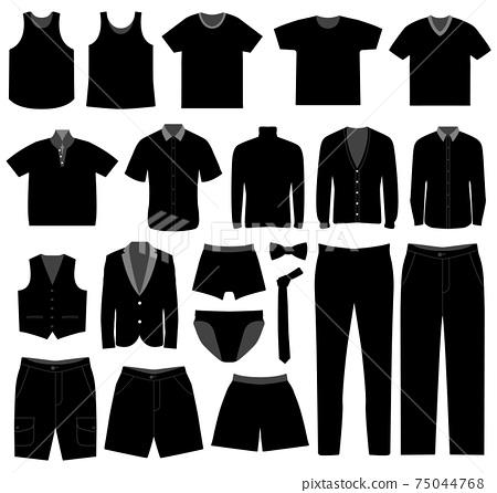 Men Man Male Apparel Shirt Cloth Wear.  75044768