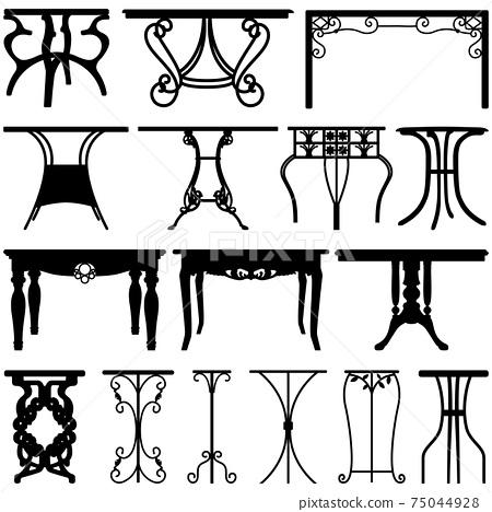 Table Desk Home Furniture Design.  75044928