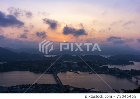 한려해상국립공원,통영시,경남 75045458