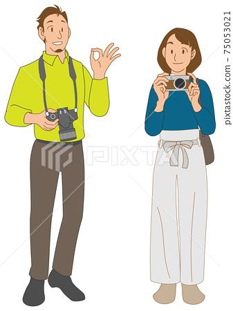 幾位攝影師享受紀念照 75053021