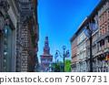 Via Dante and Sforza Castle 75067731