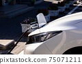 電動汽車電源和充電軟管要在充電站充電 75071211