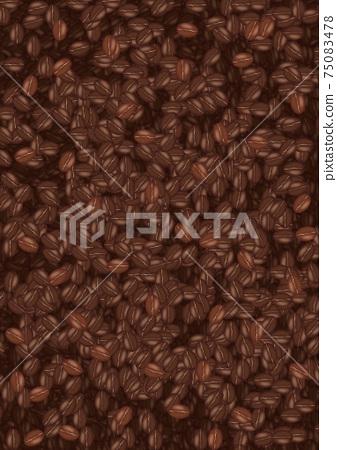 一側咖啡豆 75083478