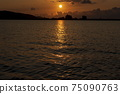 Evening view of Togo Lake 75090763