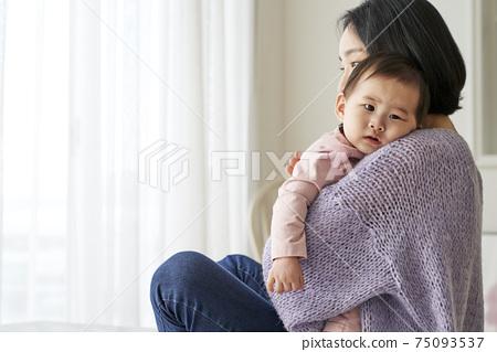 嬰兒,嬰兒,嬰兒,媽媽,家庭 75093537