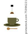 Tea time illustration 75096221