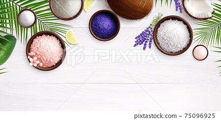 Spa Salt Realistic Composition 75096925