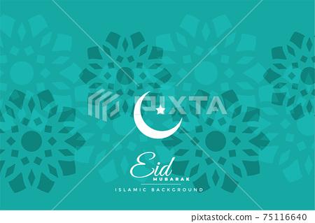 islamic eid festival background design 75116640