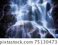 Sunanta Waterfall, Khao Nan National Park, Nakhon Si Thammarat, Thailand 75130473
