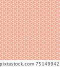 美麗的原創蕾絲花紋素材 75149942