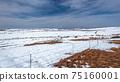 Mountains  Lake Snow Panoramic Landscape 75160001