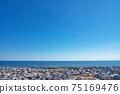 [三重縣鈴鹿市七岡町千秋町琉球觀景台眺望大海的風景 75169476