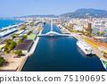 臺灣高雄駁二大港橋Taiwan Kaohsiung Pier Two Dagang Bridge 75190695