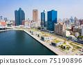 高雄港城市景觀Kaohsiung, Taiwan, Kaohsiung Port, Cityscap 75190896
