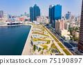 高雄港城市景觀Kaohsiung, Taiwan, Kaohsiung Port, Cityscap 75190897