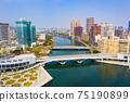 高雄港城市景觀Kaohsiung, Taiwan, Kaohsiung Port, Cityscap 75190899