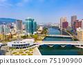 高雄港城市景觀Kaohsiung, Taiwan, Kaohsiung Port, Cityscap 75190900