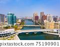 高雄港城市景觀Kaohsiung, Taiwan, Kaohsiung Port, Cityscap 75190901