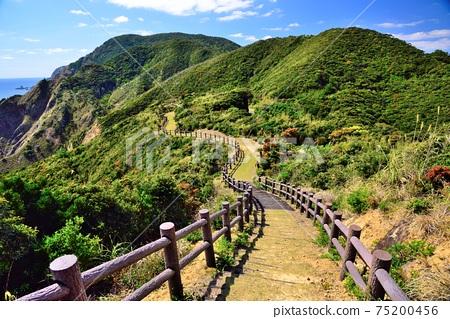 角島,從戰場上看到的綠色山脈 75200456