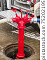 hoses connected to hydrant 75202195