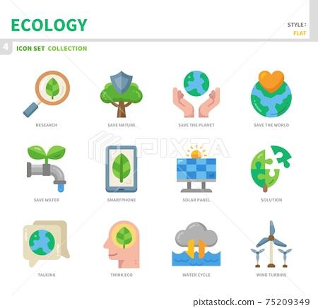 ecology icon set 75209349