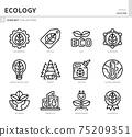 ecology icon set 75209351