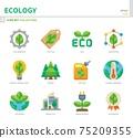 ecology icon set 75209355