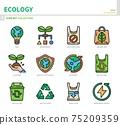 ecology icon set 75209359