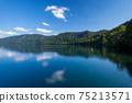 十和田湖的美麗倒影 75213571
