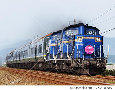 "Sleeping limited express ""Twilight Express"" 75218785"