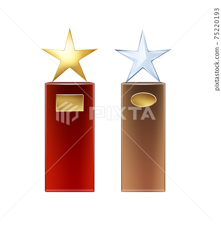 Set of star trophies 75220193
