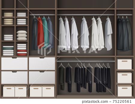 Vector Cloakroom closet 75220561