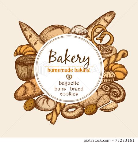 Vintage Bakery Frame 75223161