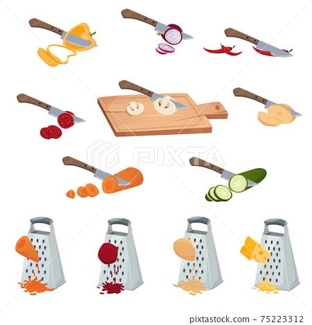 Vegetables Preparing Set 75223312