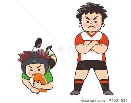 橄欖球運動員體育俱樂部活動 75224033