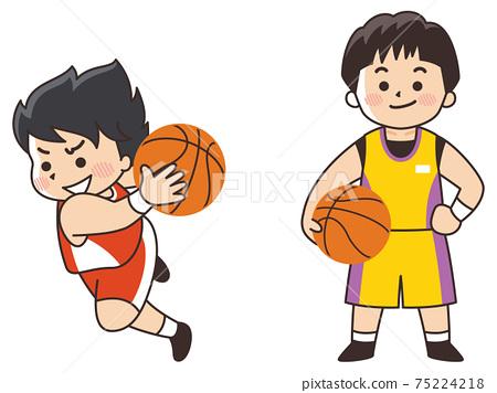 籃球運動員體育俱樂部活動 75224218