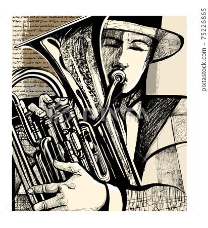 Blow the euphonium 75226865