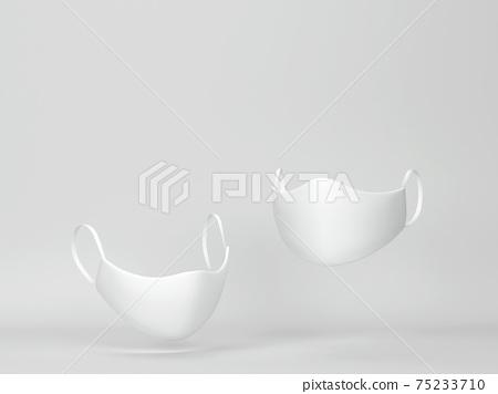 Protective face mask mockup 75233710