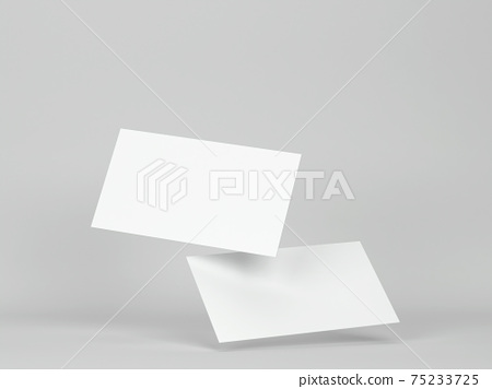 Blank business cards mockup 75233725