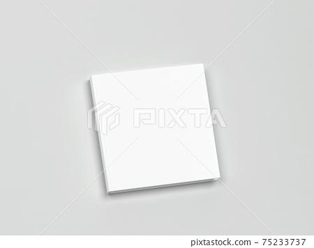 Blank book cover mockup 75233737