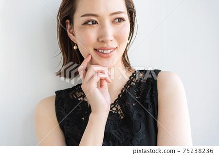 酷美女女人肖像 75238236