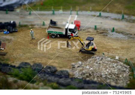 挖掘機車和卡車 75245905