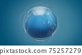 Global world network communication technology 75257279
