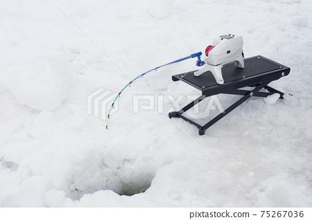 빙어 낚시 낚싯대 (빙어 전동 릴) 75267036