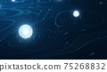 Abstract technology big data concept. 75268832