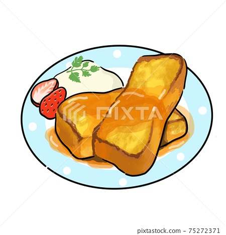 French toast 75272371
