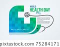 World Health Day Banner Design 75284171