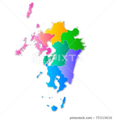 Kyushu Maps 75313610